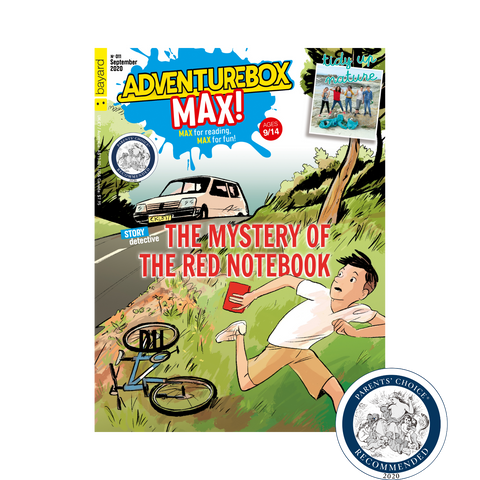 AdventureBox MAX wins Parents Choice Award in its first year of circulation