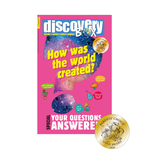 DiscoveryBox Award Winning Kids Magazine for STEM and History