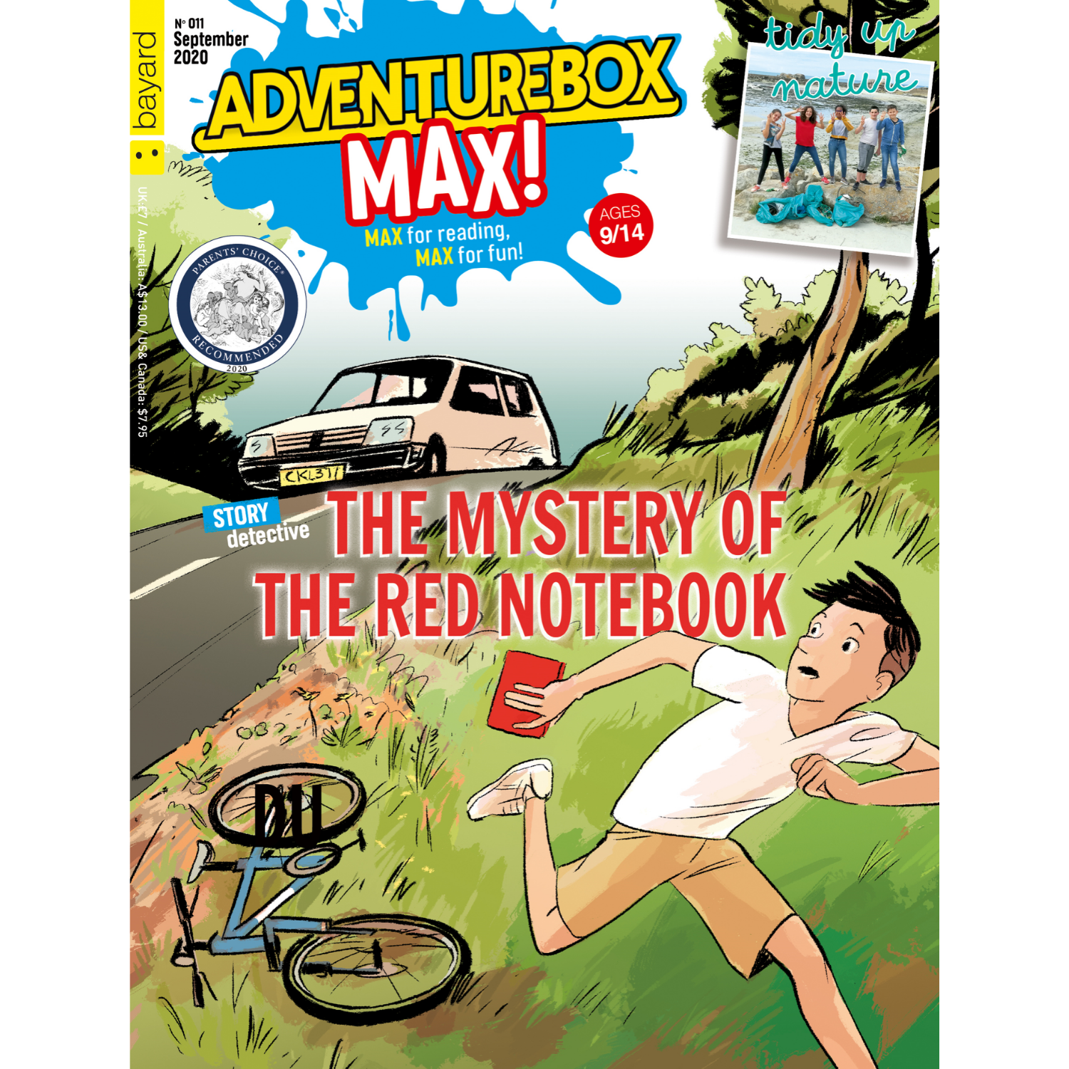 TheSchoolRun Special: AdventureBox MAX! Age 9-14