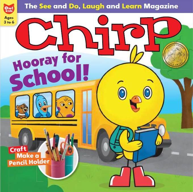 Chirp:  AGES 3-6 - Bayard Magazines