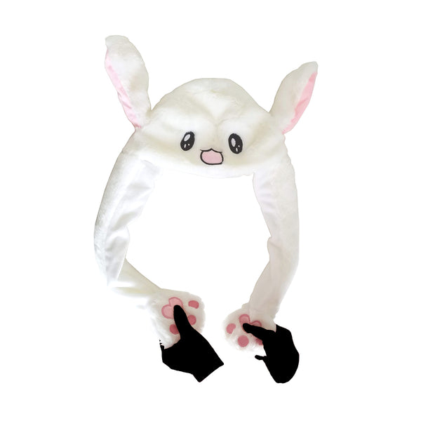 Bunny | Duckling Plush Hat with Movable Ears