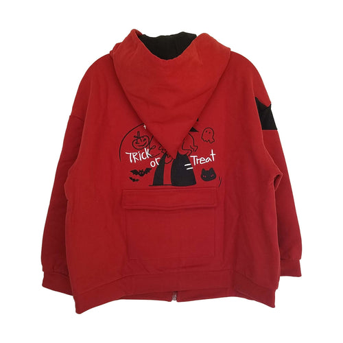 Ruby Red Witch Halloween Hoodie