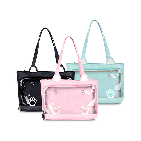 Cat Ears Shoulder Bag / Ita-Bag in 3 Colors