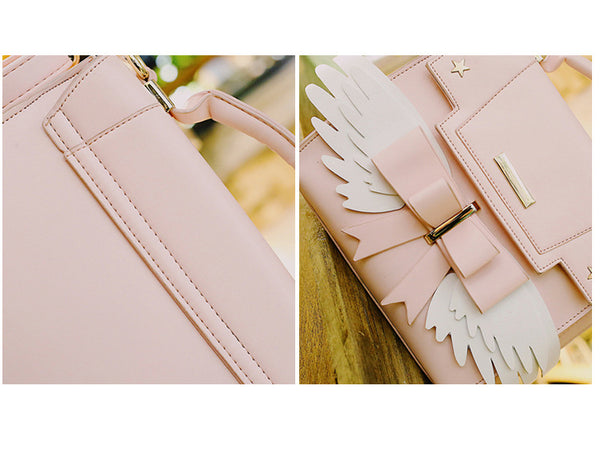 """Sakura Wings"" - 2 Way Crossbody Bag"