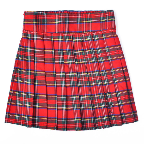 Classic Red Signature Tartan Plaid Mini-Skirt