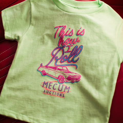 TODDLER HOW I ROLL TEE