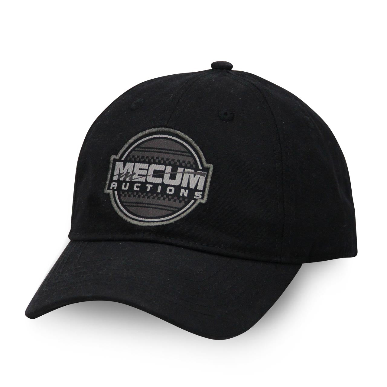 Mecum Mens Black Power Relaxed Hat - Front