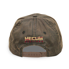 Mecum Mens Waxed Cotton Tradition Hat - Back