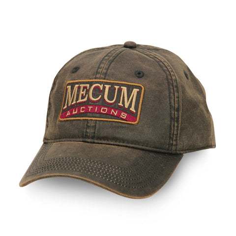 Mecum Mens Waxed Cotton Tradition Hat - Front