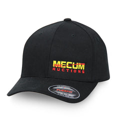 Mecum Mens Flex Fit Black Hat - Front