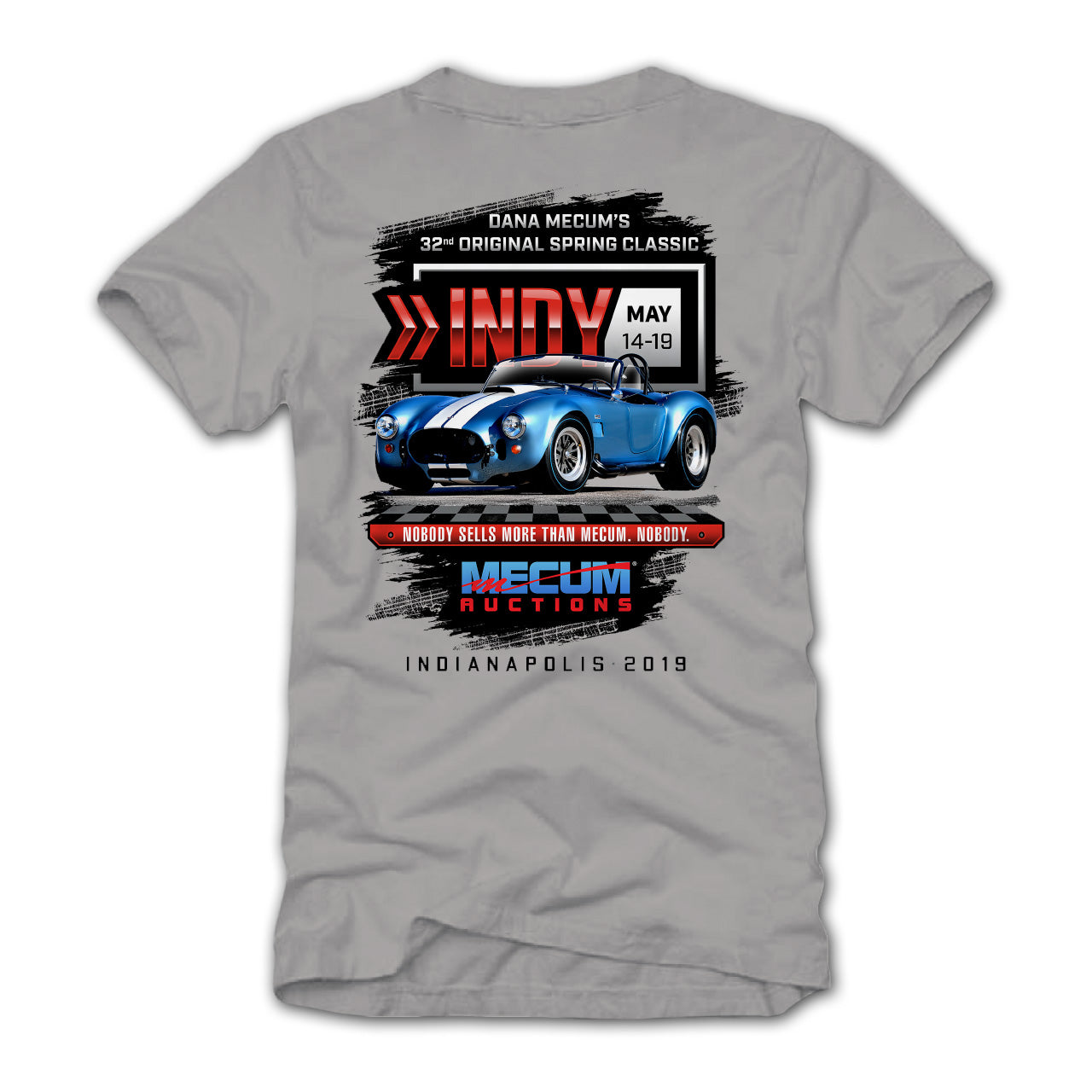 2019 Indianapolis Gray Event Exclusive T-Shirt