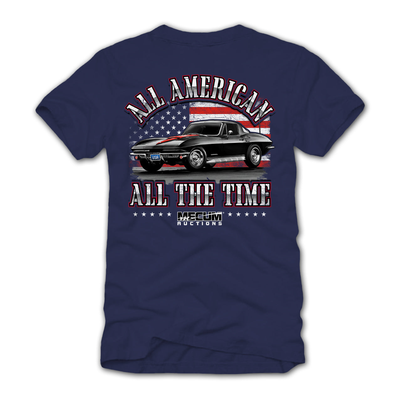 ALL AMERICAN T-SHIRT-Men's Tees-MECUM