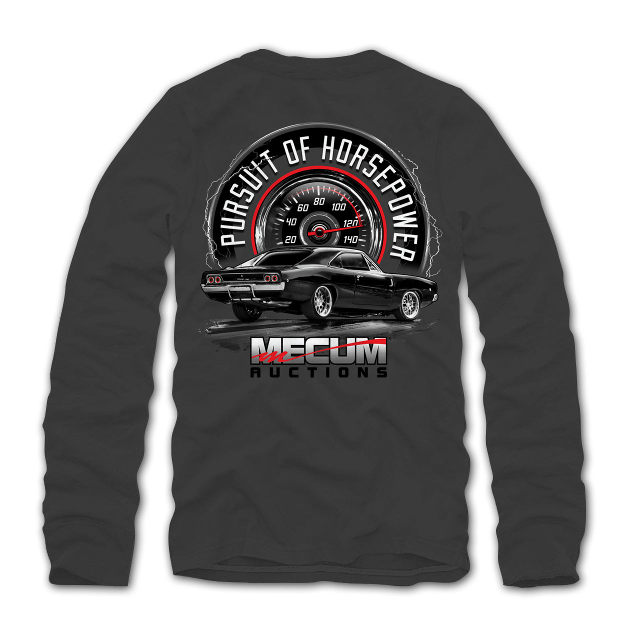 CHARGER LONG SLEEVE T-SHIRT-Men's Tees-MECUM