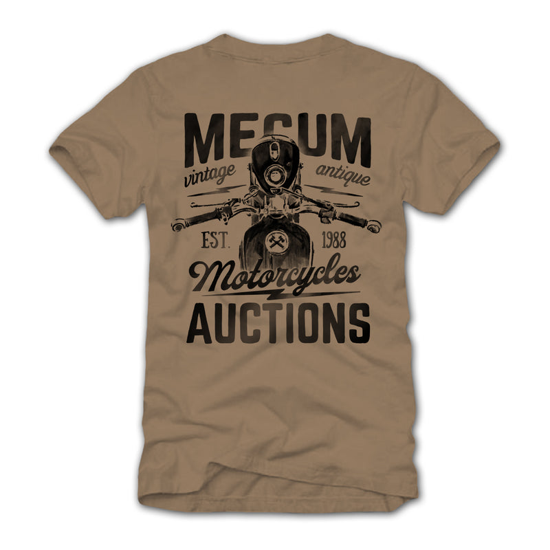Photo of 2020 Mecum Men's Biker T-Shirt back