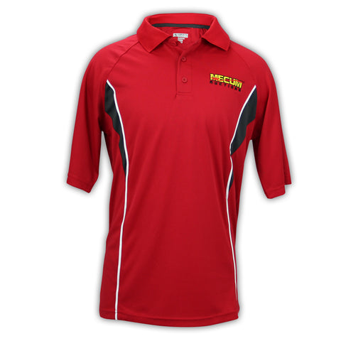 Photo of 2020 Mecum Men's Red Sport Polo front