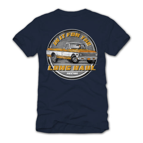 Photo of 2020 Mecum Men's Navy Built to Last T-Shirt back