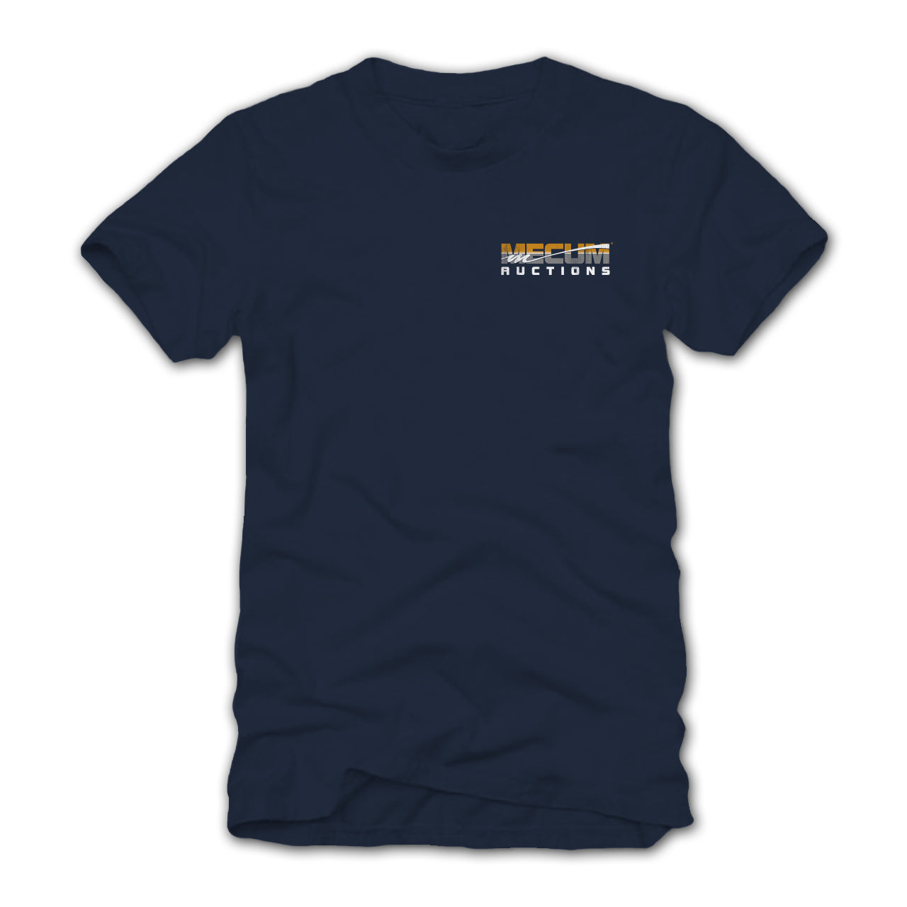 Photo of 2020 Mecum Men's Navy Built to Last T-Shirt front