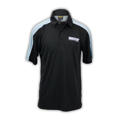 Photo of 2020 Mecum Men's Black Blocked Polo front