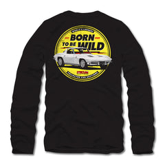 Photo of 2020 Mecum Men's Born To Be Wild Long Sleeve T-Shirt back
