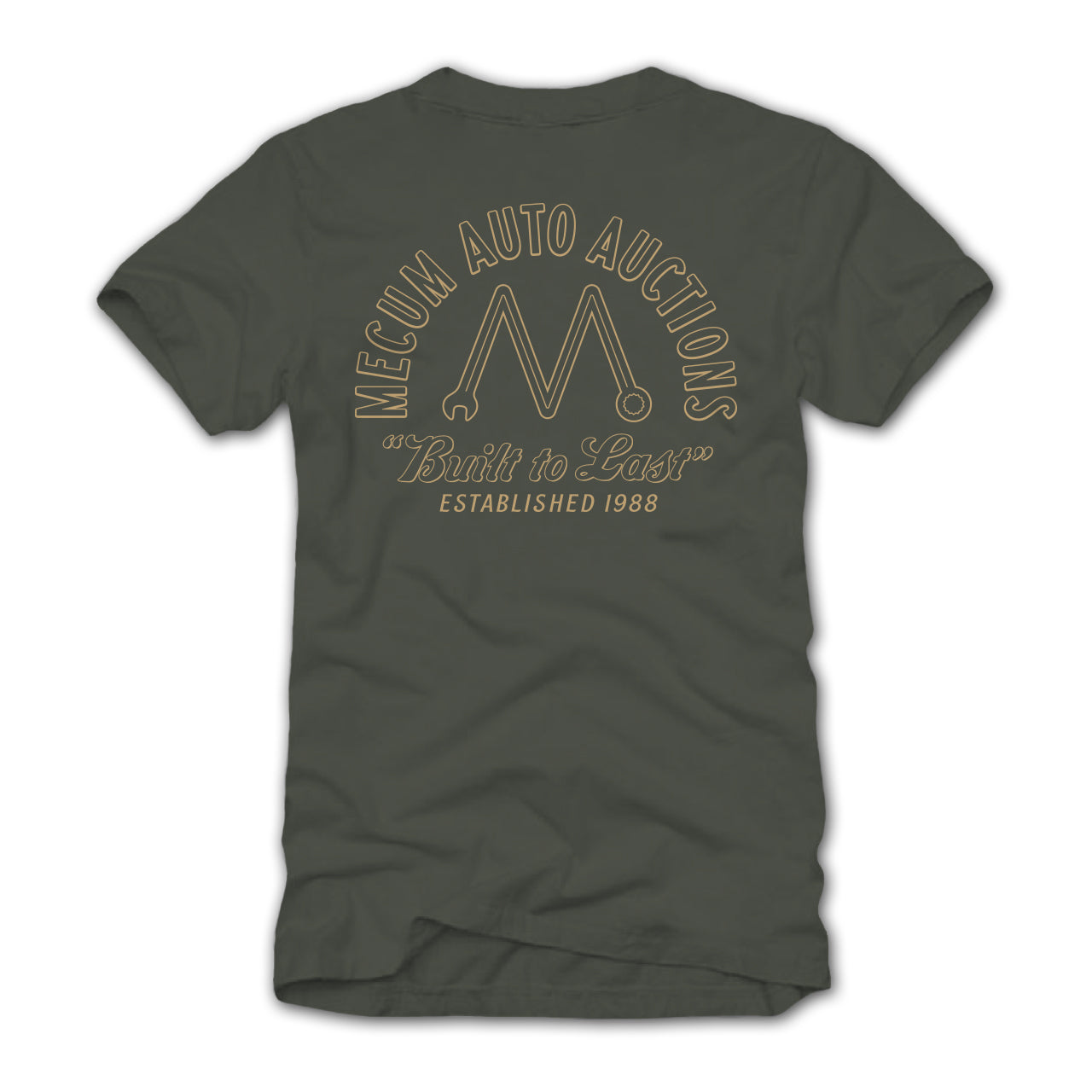 Photo of 2020 Mecum Men's M Wrench T-Shirt back