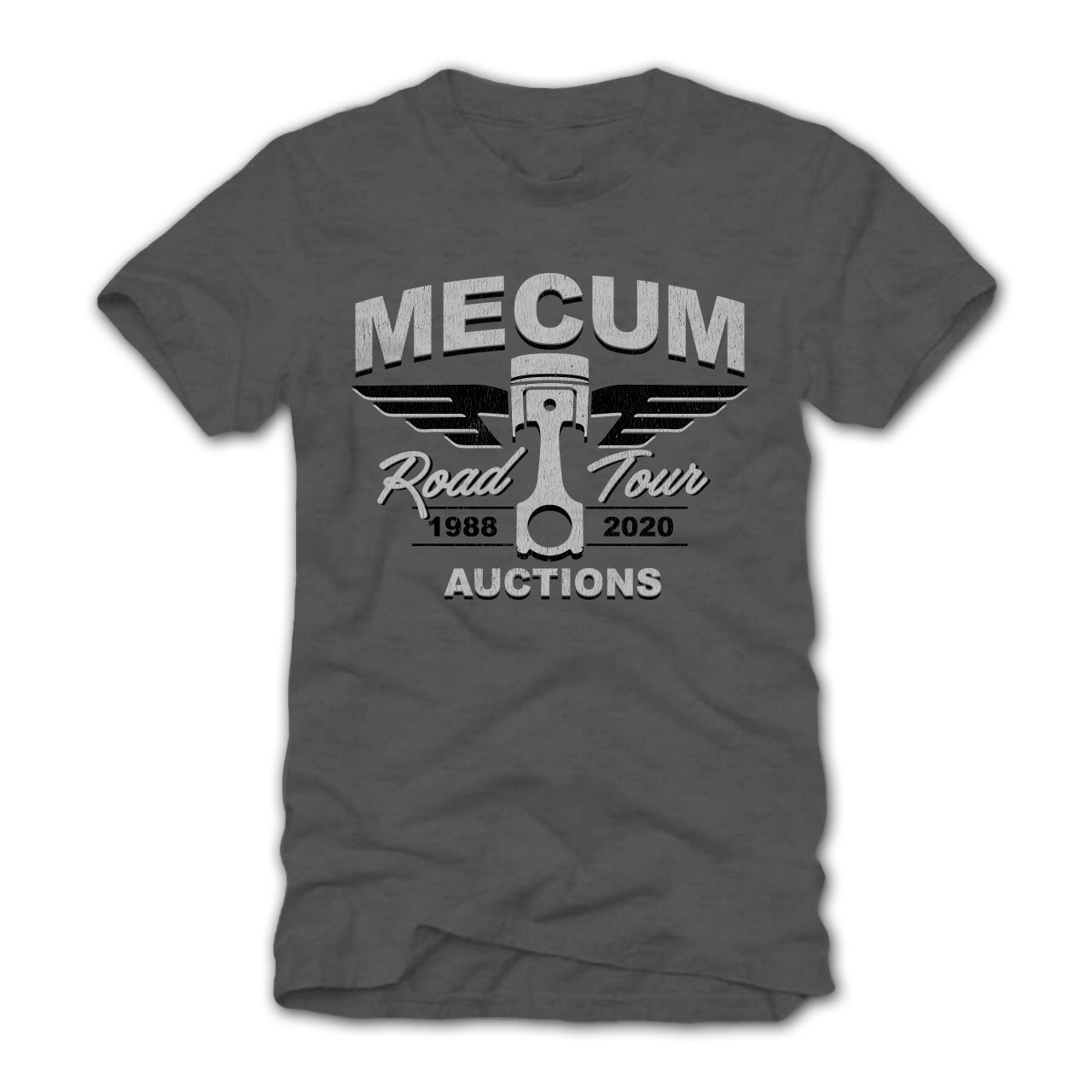 Photo of 2020 Mecum Men's Road Tour America T-Shirt front