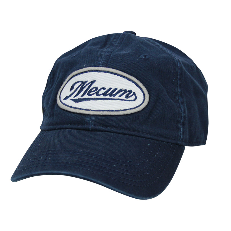 Picture of 2020 Mecum Men's Navy Swoop Hat Front