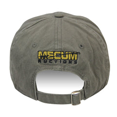 Picture of 2020 Mecum Men's Olive Slide Closure Shift Your Gears Hat Back