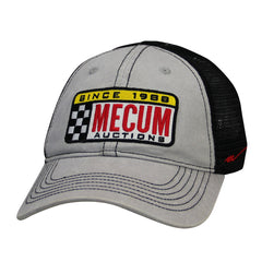 Picture of 2020 Mecum Men's Gray Race It Hat Front