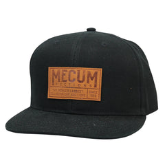 Picture of 2020 Mecum Men's Black Driver Flat Bill Hat Front