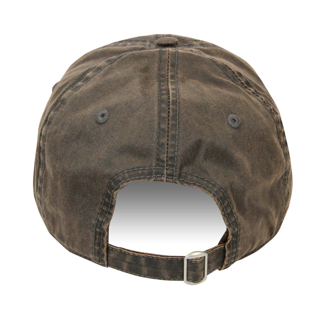 Picture of 2020 Mecum Men's Brown Waxed 1988 Hat Back