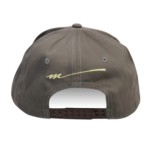 Picture of 2020 Mecum Men's Grey Throwback Hat Back