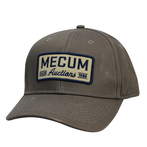 Picture of 2020 Mecum Men's Grey Throwback Hat