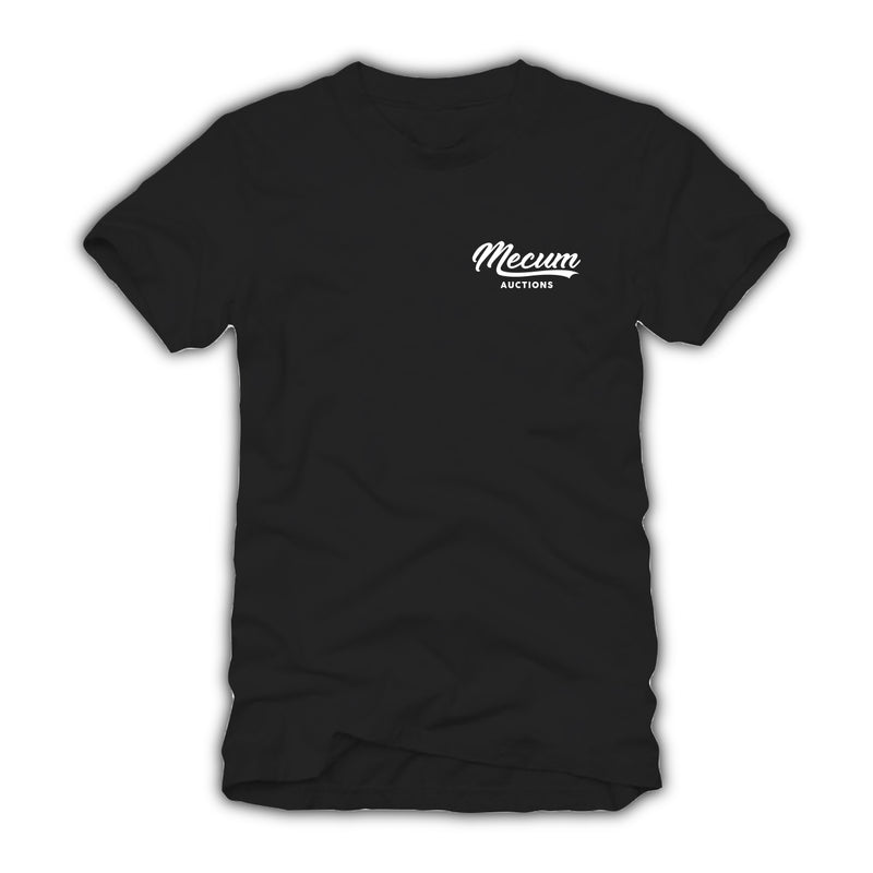 2021 Mecum Mens Black American Made T-Shirt - Front