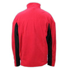 Mecum Mens Red Fleece Jacket - Back