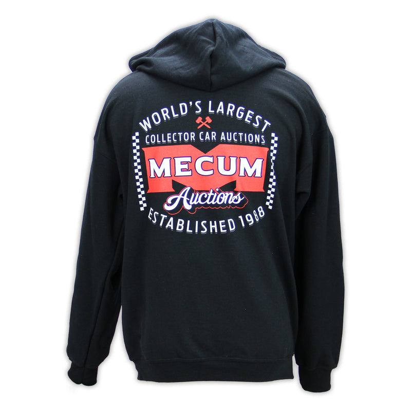 FULL ZIP CHECK SWEATSHIRT-Men's Outerwear-MECUM