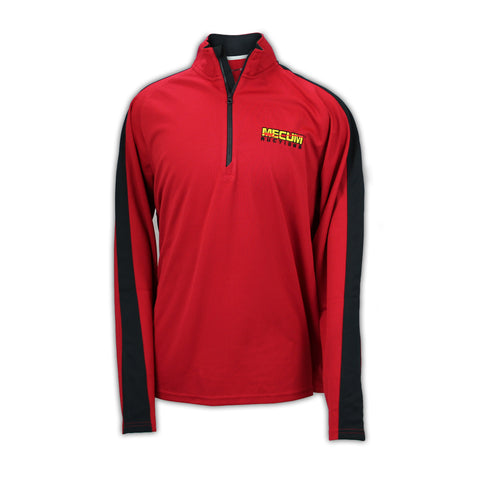 Picture of 2020 Mecum Men's Logo Quarter Zip Pullover front