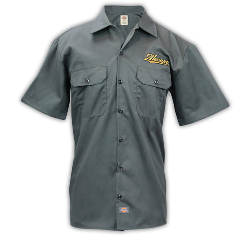 Photo of 2020 Mecum Men's Gray Shift Work Shirt front