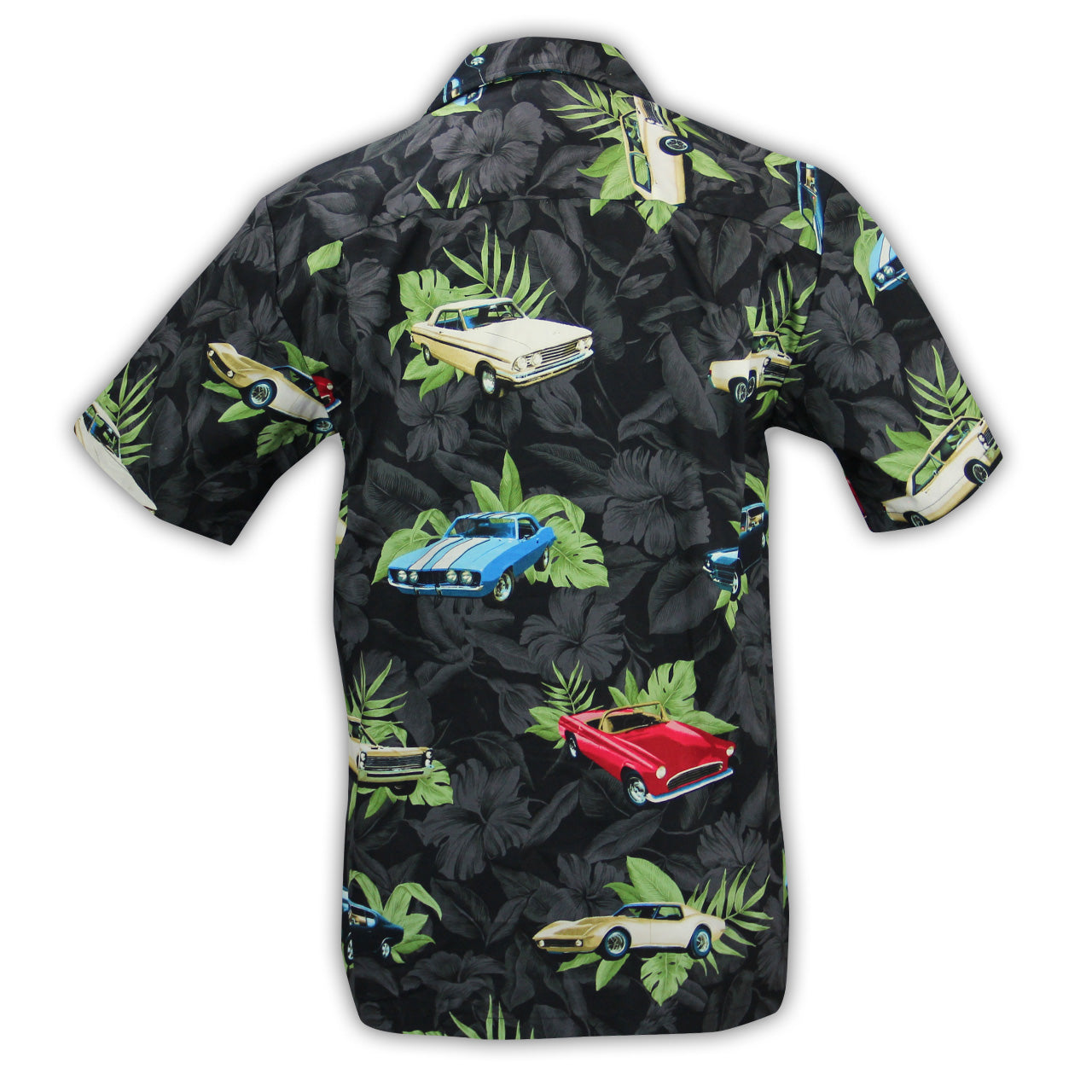 Photo of 2020 Mecum Men's Hawaiian Shirt back