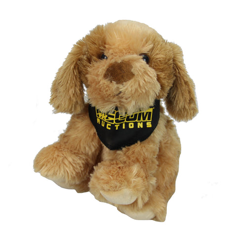 Mecum Novelty Plush Bandana Dog - Front