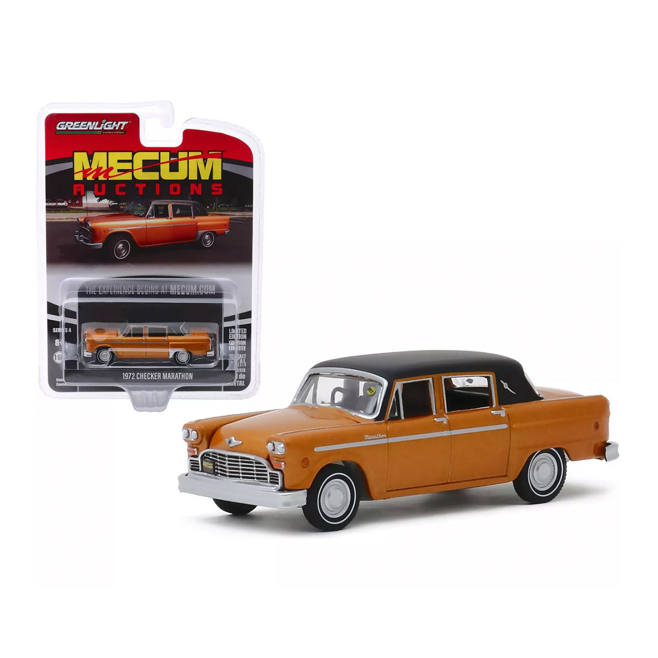 Checker Marathon Diecast Car