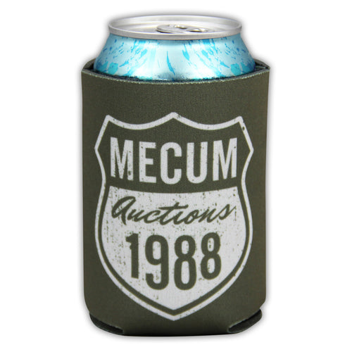 front of mecum auctions 2020 route 88 koozie