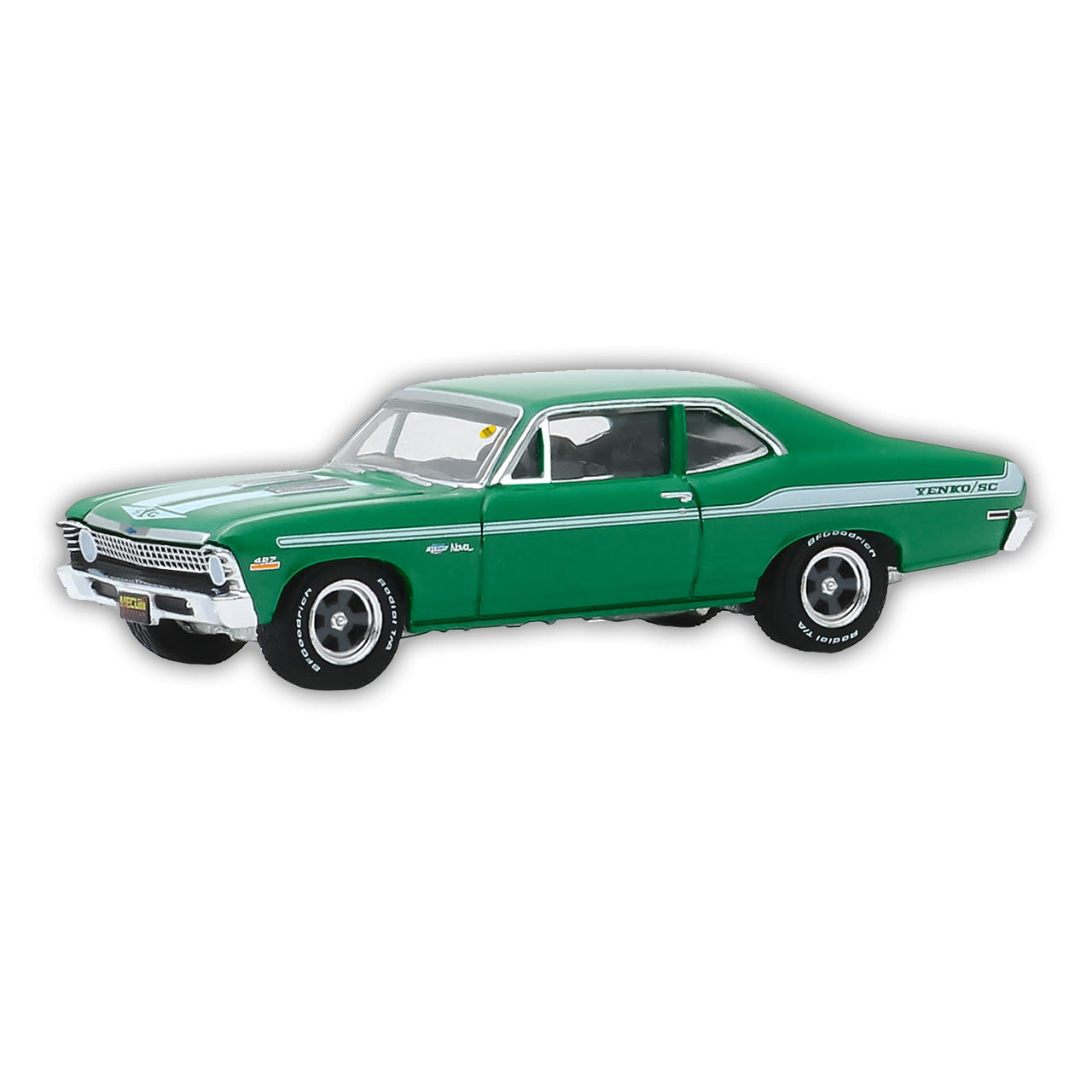 Chevy Nova Diecast Car