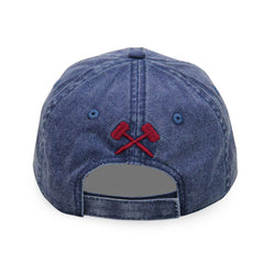 Mecum Womens Navy Simple Hat - Back