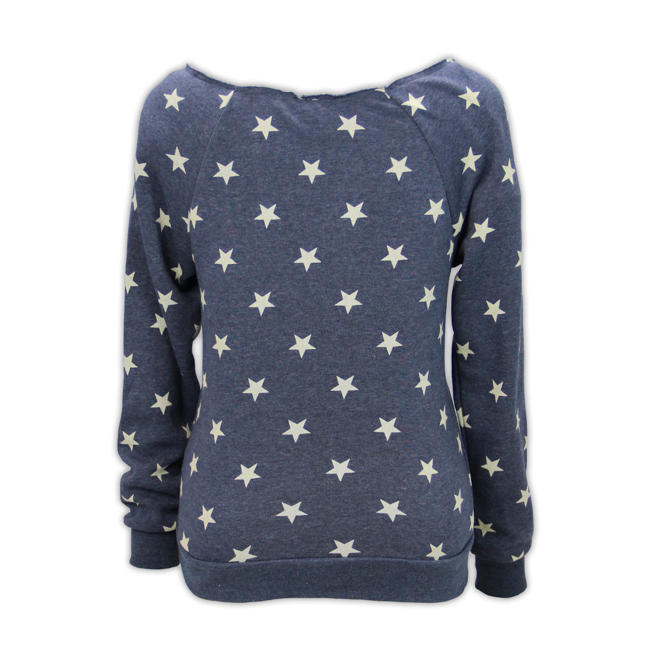 Mecum Womens Patriot Navy Star Pullover - Back