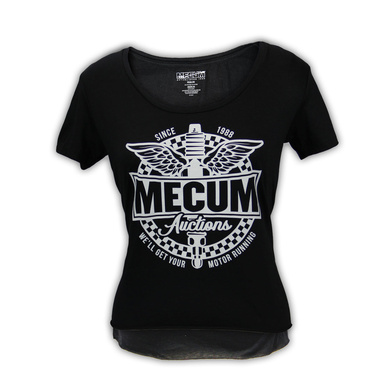 Photo of 2020 Mecum Woman's Motor Riding T-Shirt front