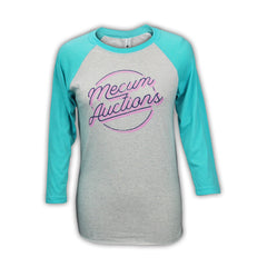 Photo of 2020 Mecum Woman's Circulate Raglan T-Shirt front