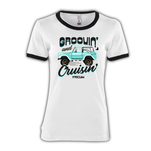 2021 Mecum Womens Bronco Babe T-Shirt