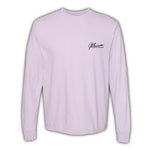 2021 Mecum Womens Pink Stang Long Sleeve T-Shirt - Front
