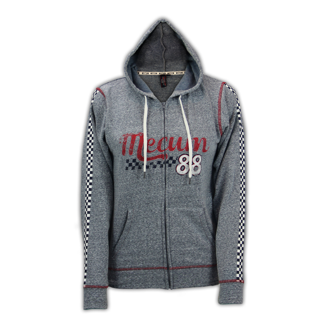 Photo of 2020 Mecum Women's Impact Full Zip Hoodie front
