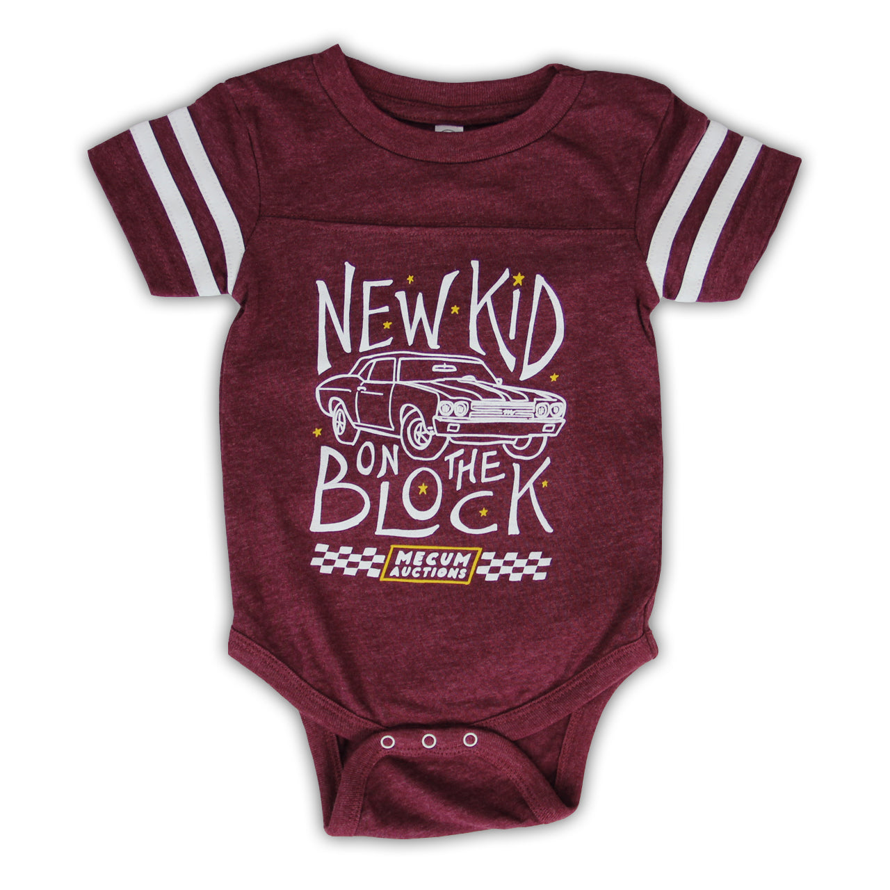 picture of mecum auctions 2020 new kid on the block onesie